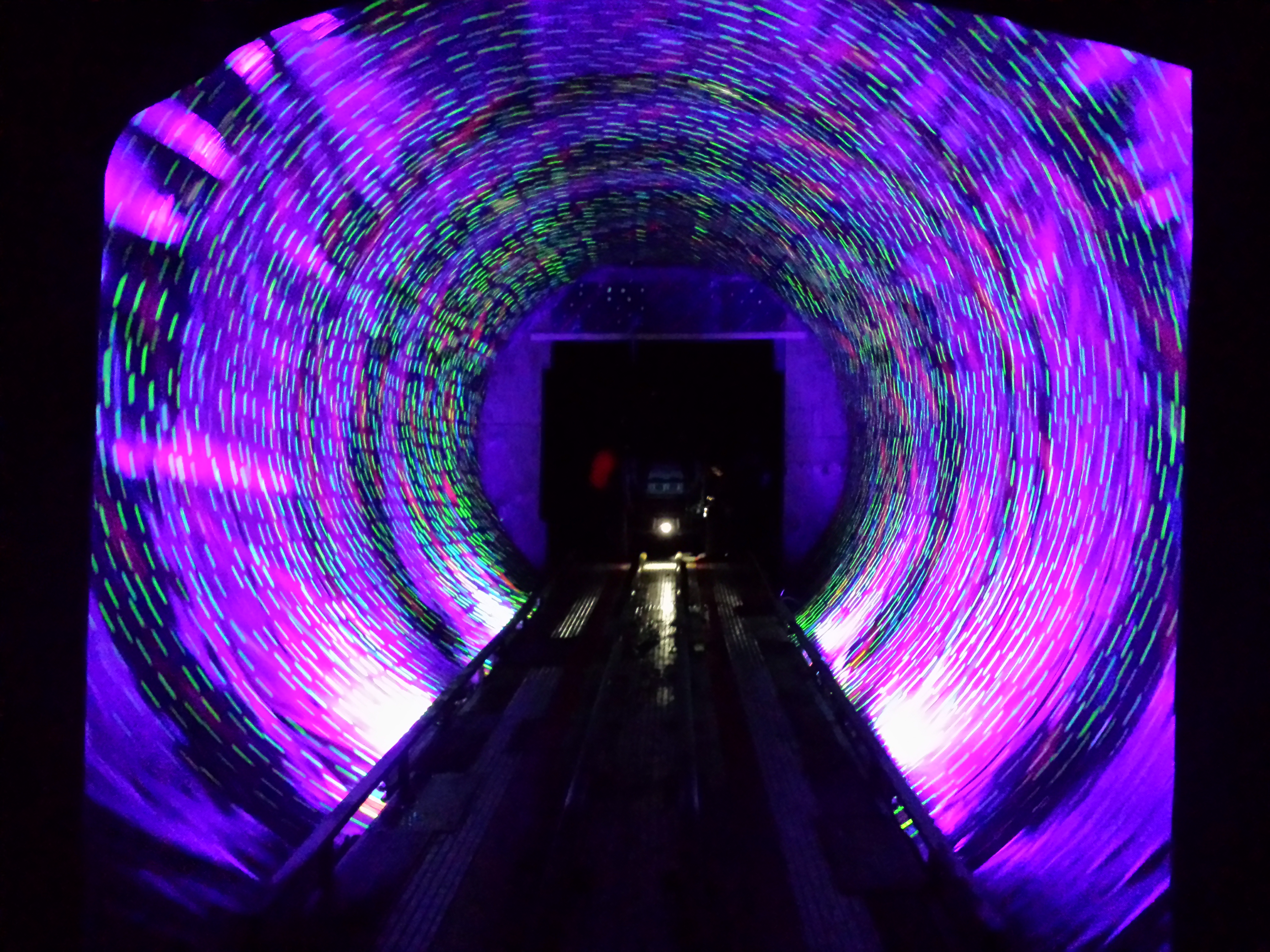 largest drive-thru vortex tunnel